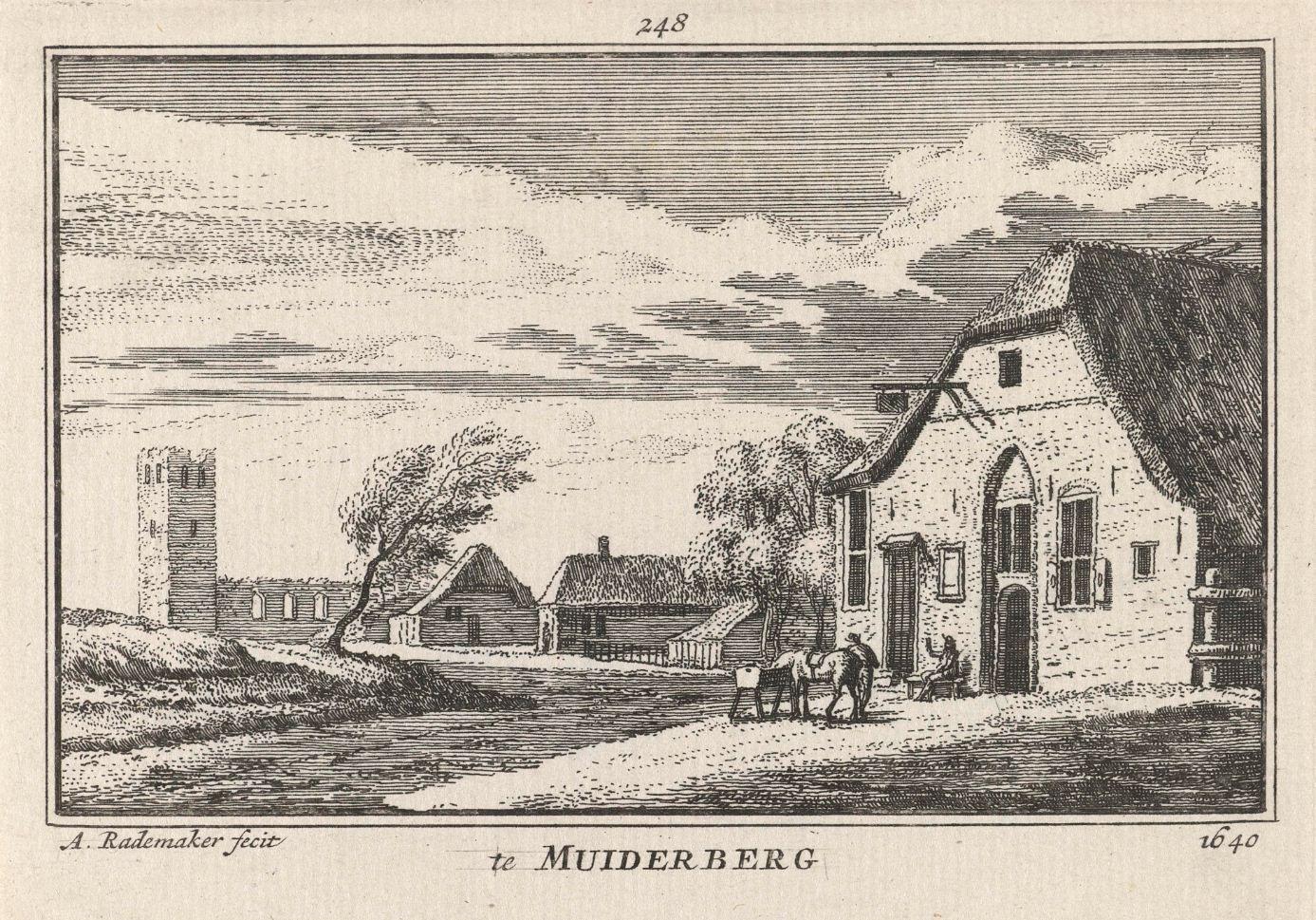Landschap Muiderberg 1640