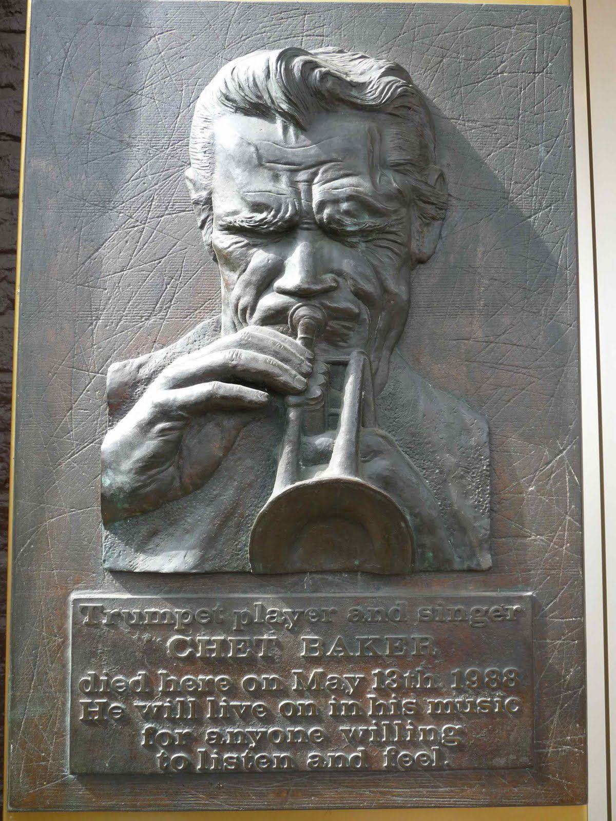 Chet Baker plaquette