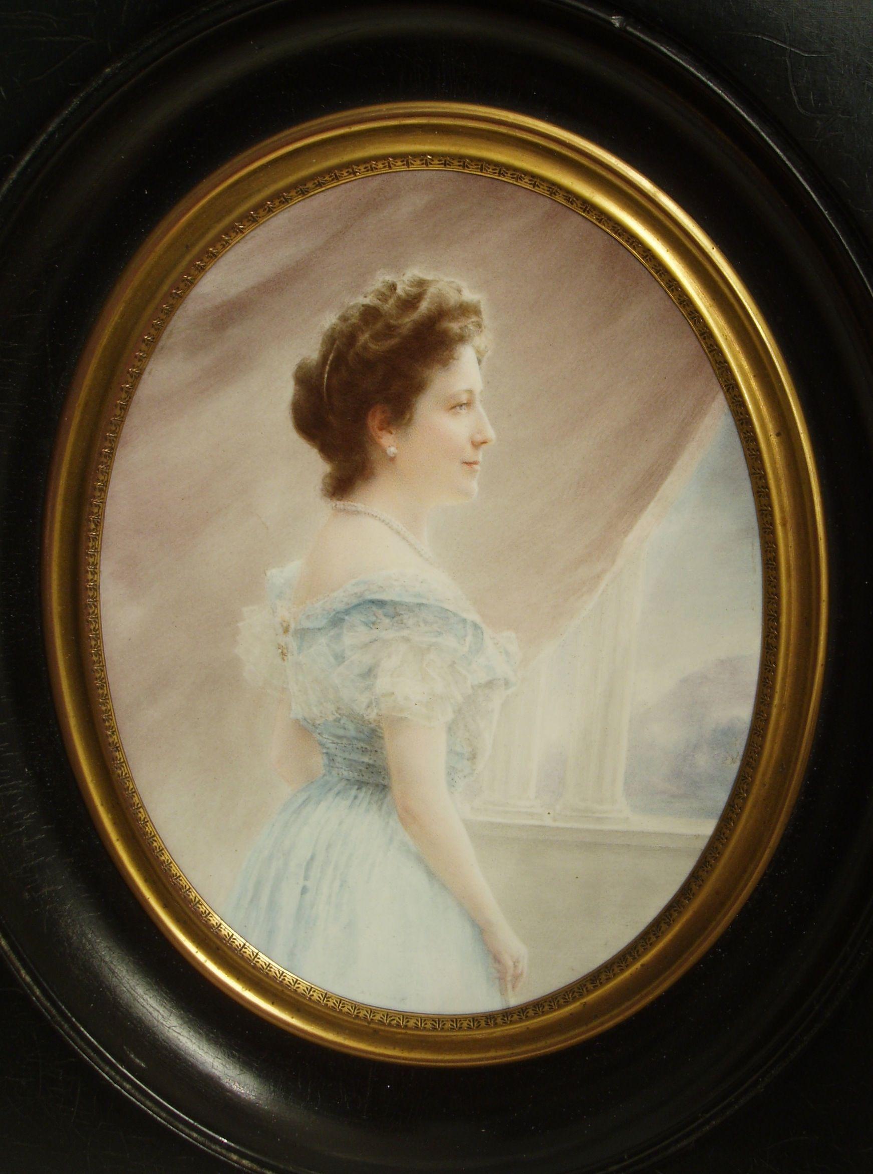 Portret van mevrouw Van Loon-Egidius