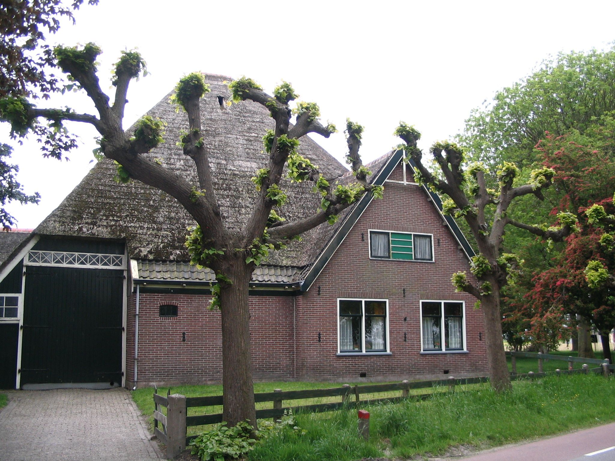 Traditionele stolpboerderij