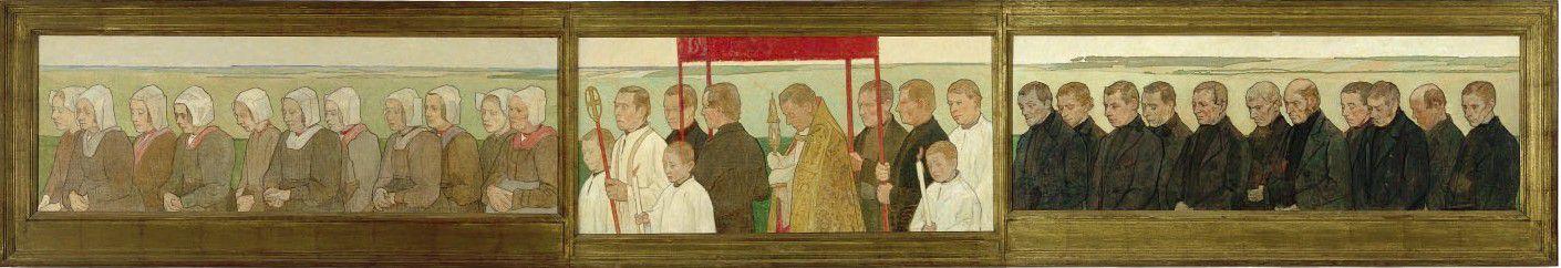 Gijs Bosch Reitz, Sint Jansprocessie, 1895.
