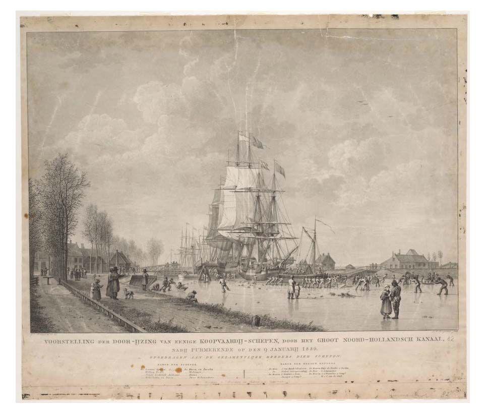 Noord-Hollands kanaal 1830