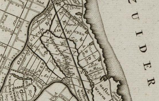Zeevangsdijk, 1750.