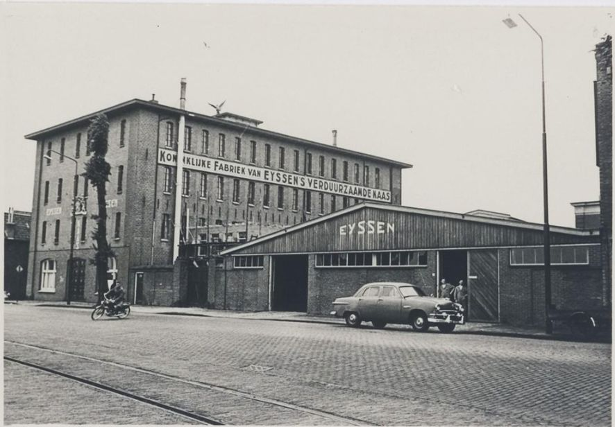Kaasfabriek Eyssen.