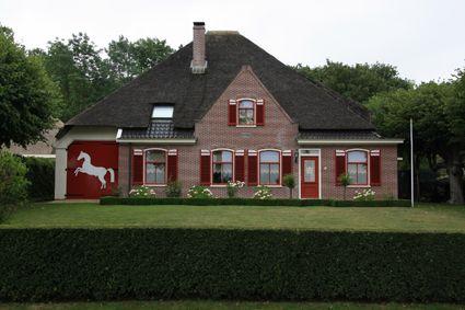 Stolpboerderij in Schoorl Foto Mart Groentjes