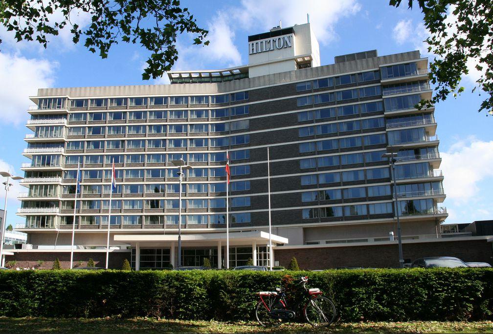 Hilton Hotel Amsterdam.
