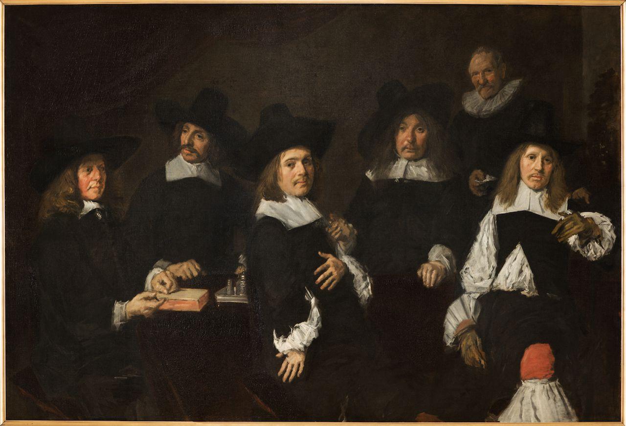 Frans Hals, Regenten van het Oudemannenhuis (1664).