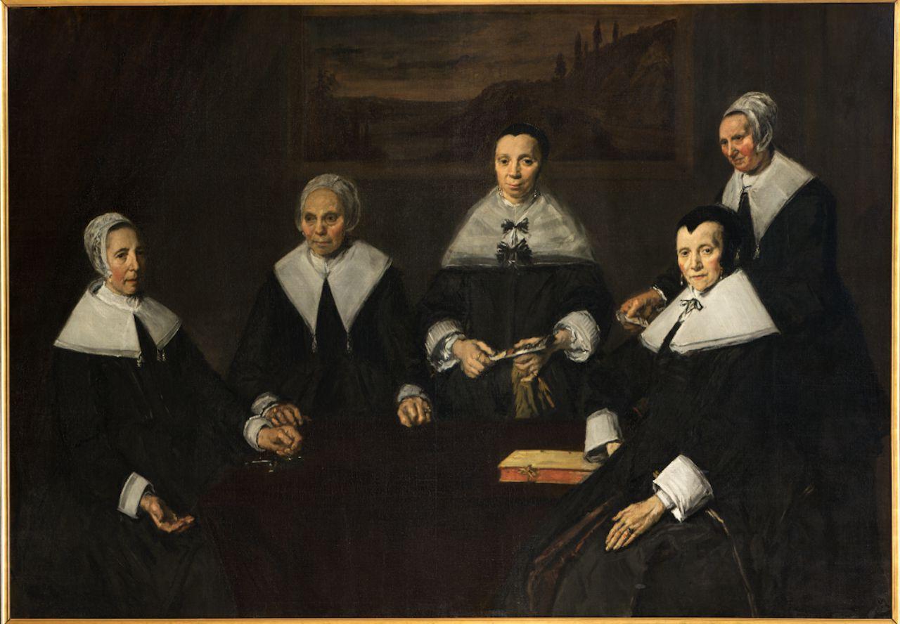 Frans Hals, Regentessen van het Oudemannenhuis (1664).