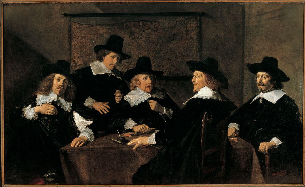 Frans Hals, Regenten van het Elisabeth Gasthuis