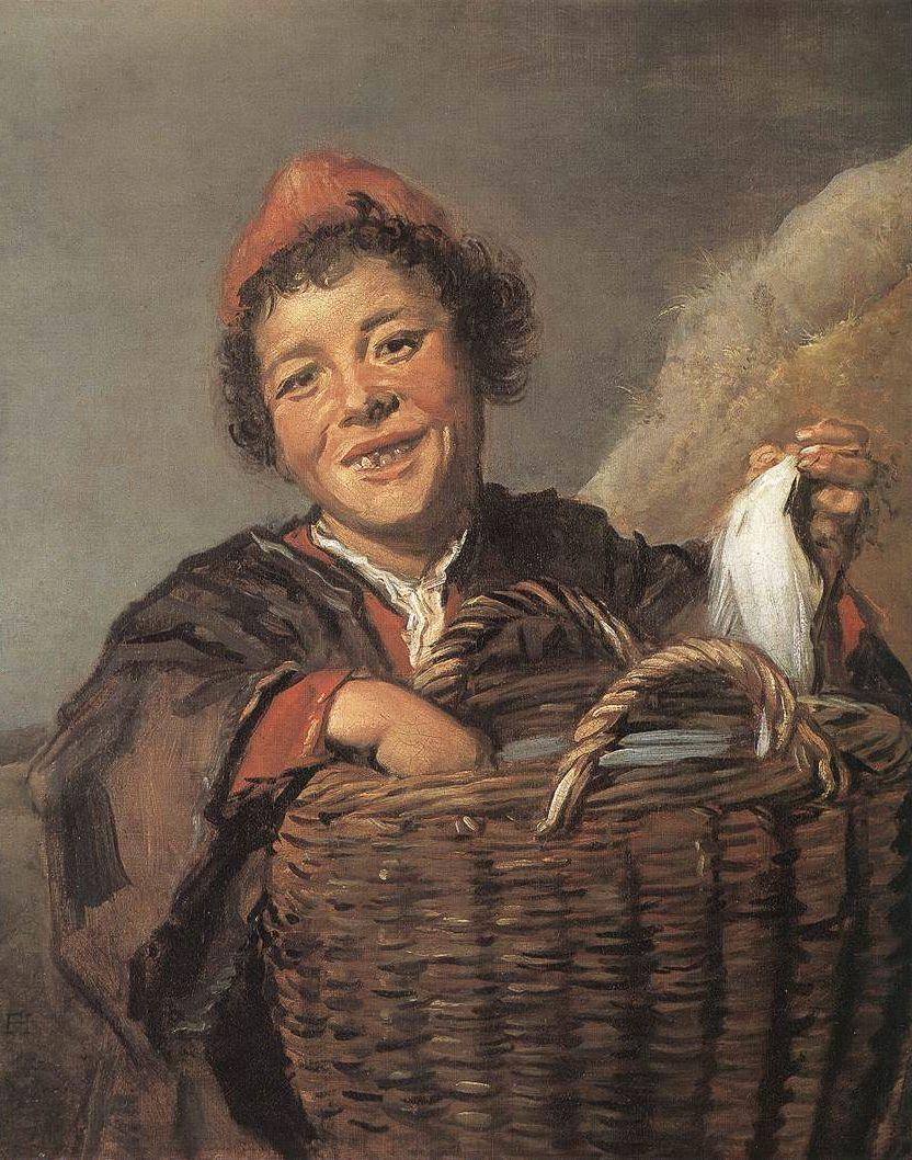Frans Hals, Vissersjongen (circa 1630)
