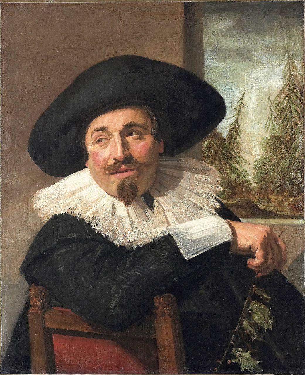 Frans Hals, Portret van Isaac Massa (1626)