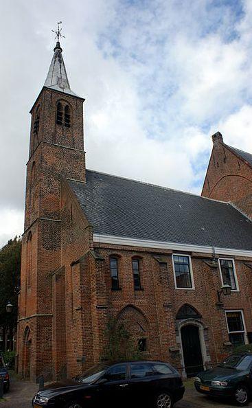 Waalse Kerk aan het Begijnhof in Haarlem