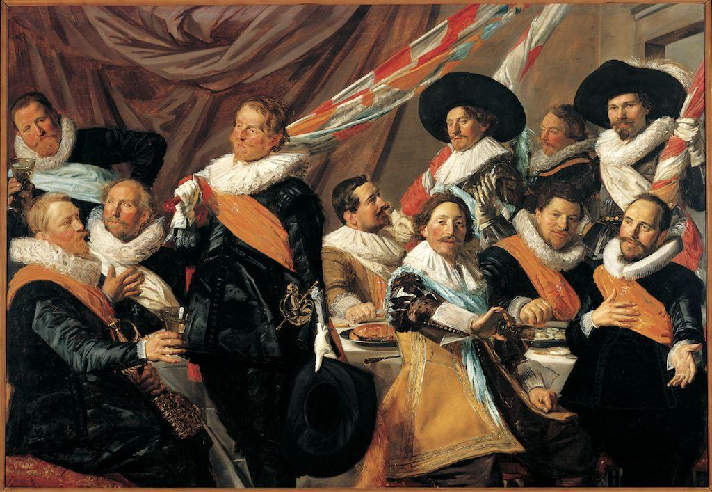 Frans Hals, Feestmaal van de officieren van de St. Jorisschutterij (1627)