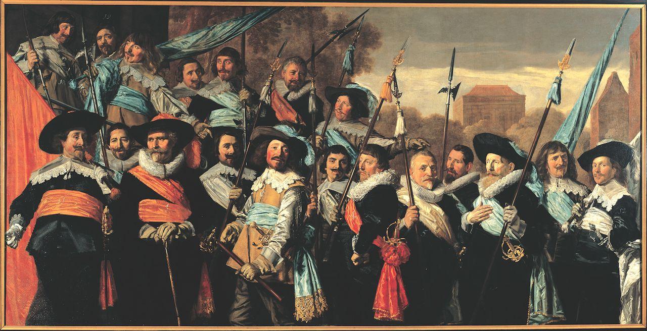 Frans Hals, Officieren en onderofficieren van de St. Jorisschutterij (1639)