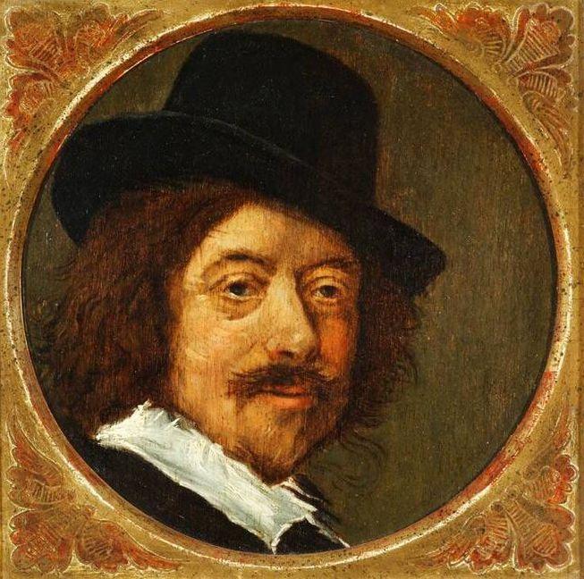 Kopie naar verloren gegaan Zelfportret van Frans Hals