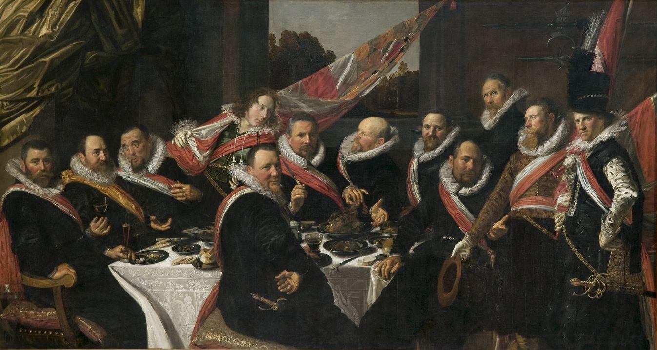 Frans Hals, Feestmaal van de officieren van de St. Jorisschutterij