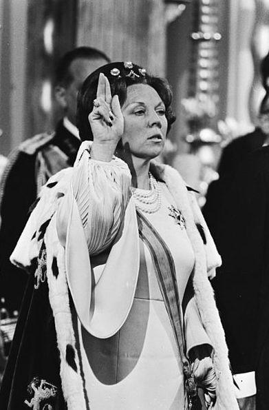 Inhuldiging van koningin Beatrix in de Nieuwe Kerk (1980)