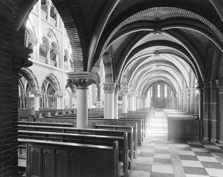 Interieur van de Posthoornkerk (1964)