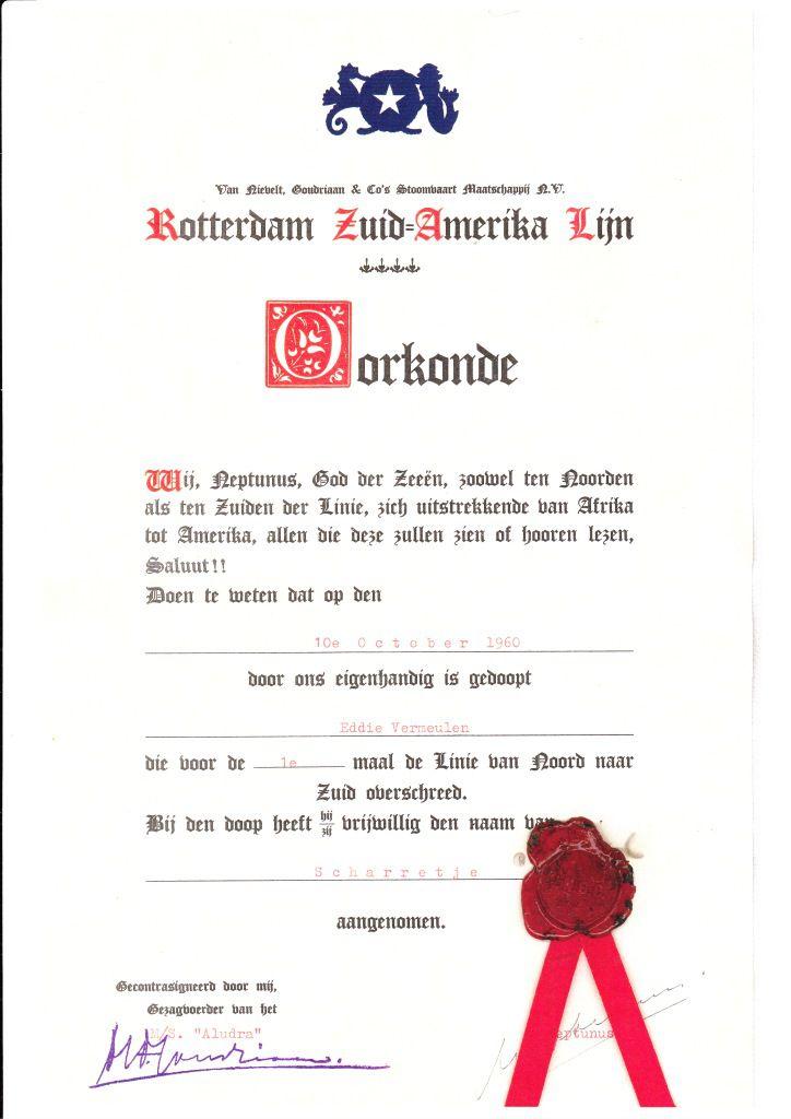 Verantwoording: Collectie Ed Vermeulen