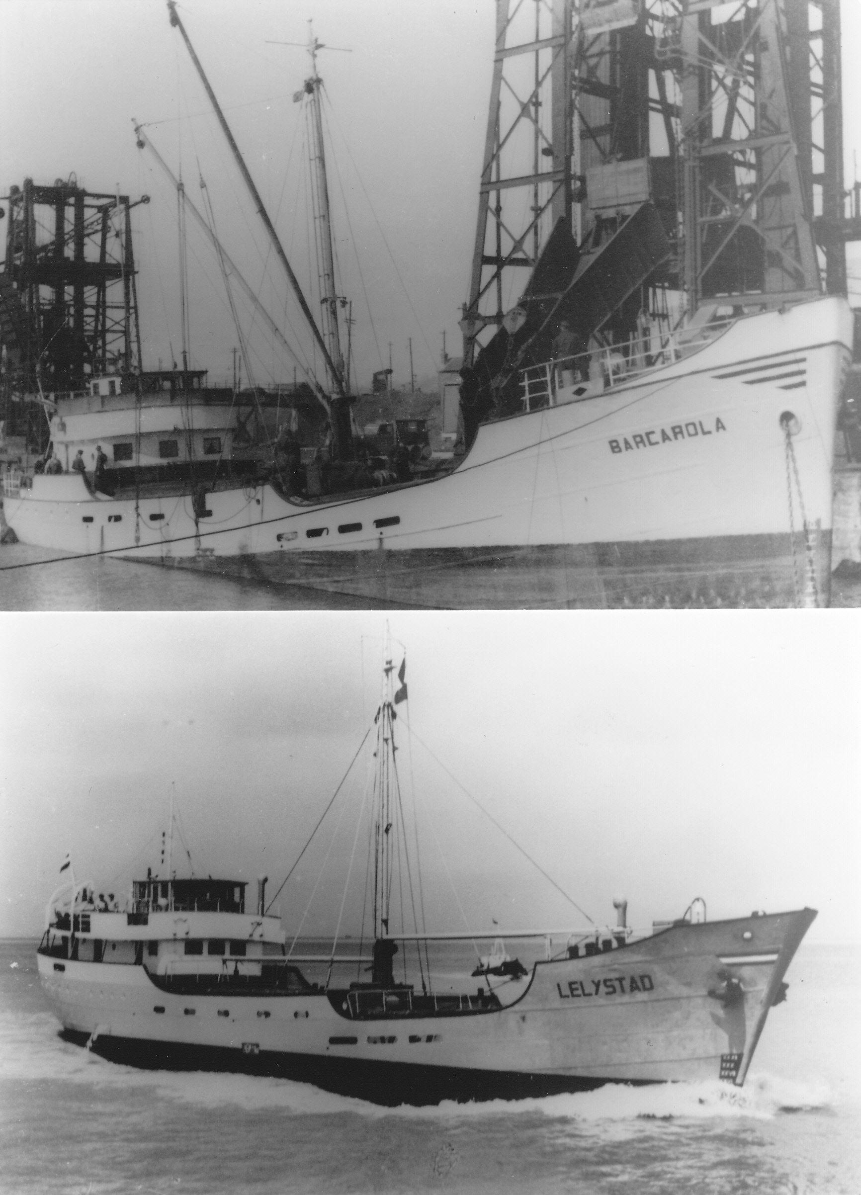 Foto: Beide foto's collectie Roy M. Helleman