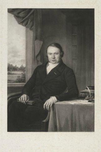 Portret van Nicolaas Beets