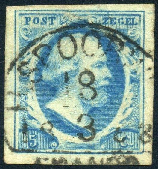 Postzegel uit 1852