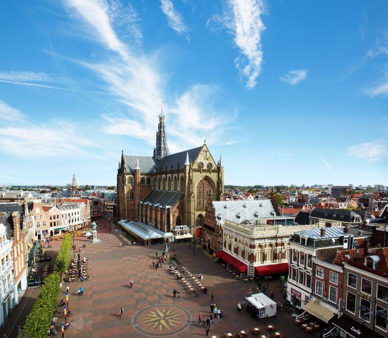 De Grote Markt in Haarlem