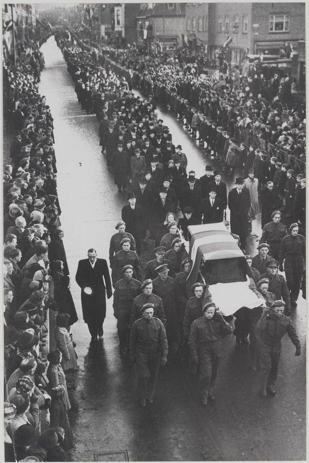Begrafenis van Hannie Schaft