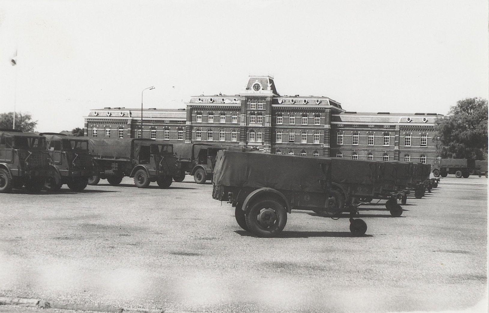 Ripperda kazerne in gebruik, 1966