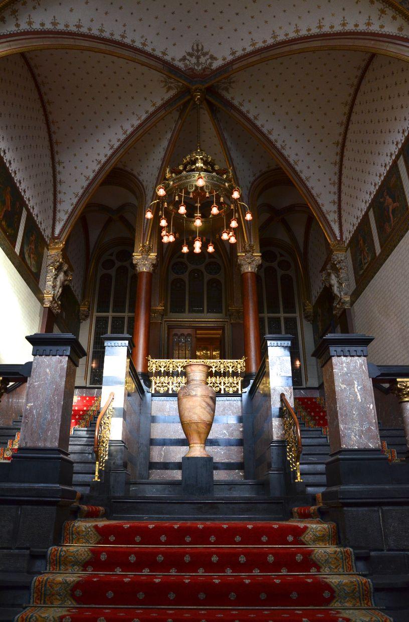 Entreehal van de Koninklijke Wachtkamer, Amsterdam Centraal Station.