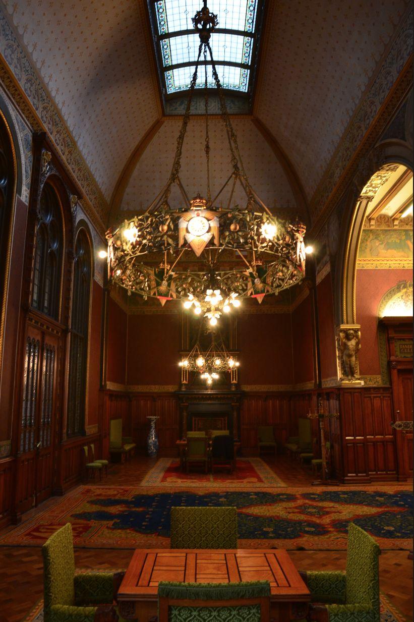 De salon van de Koninklijke Wachtkamer.