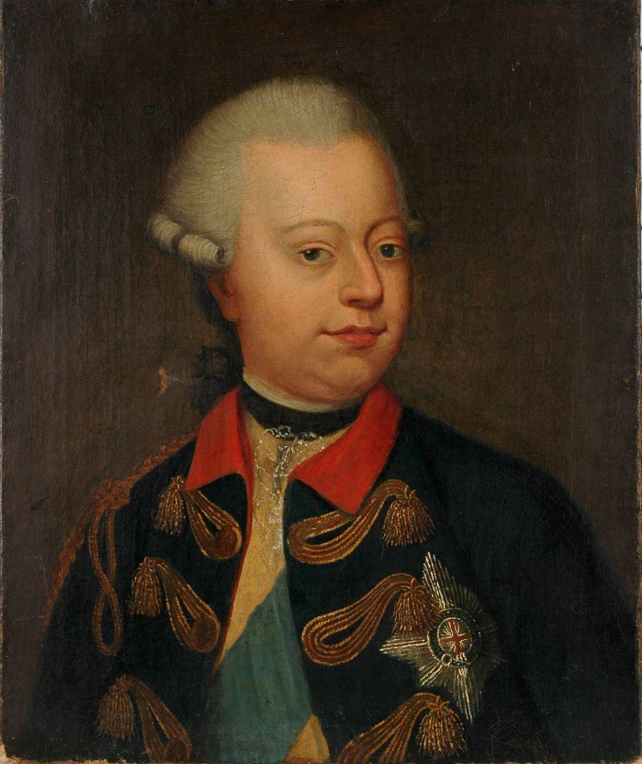 Portret van stadhouder Willem V, Collectie Edams Museum