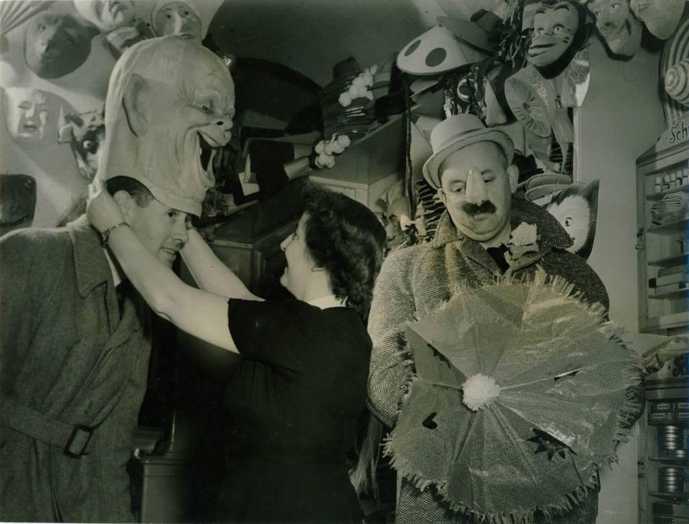 Jan en Jo Monnikendam rond 1958