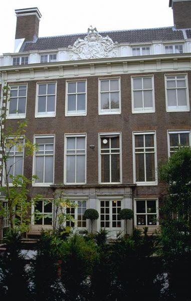 Achtergevel Herengracht 366