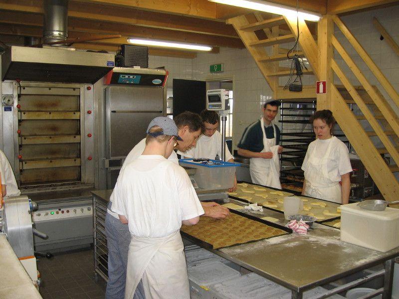 De bakkerij bij korenmolen de Otter