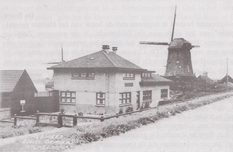 Gemaal Wilhelmina rond 1930