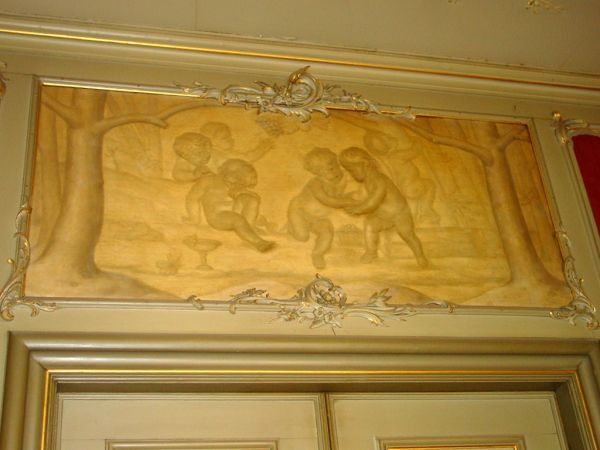 Herengracht 510: Witje in de voorkamer