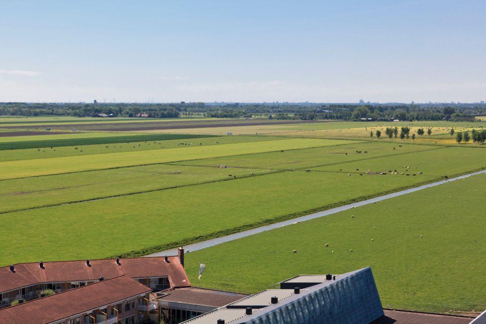Rechte lijnen in het landschap van de Beemster
