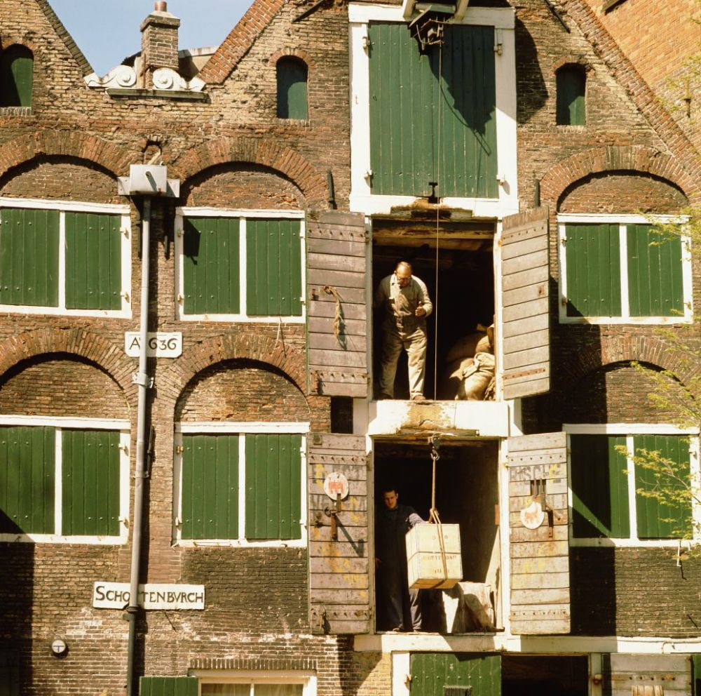 Pakhuis in Amsterdam