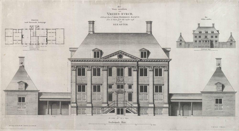 Buitenplaats Vredenburg in de Beemster (1654-1656)
