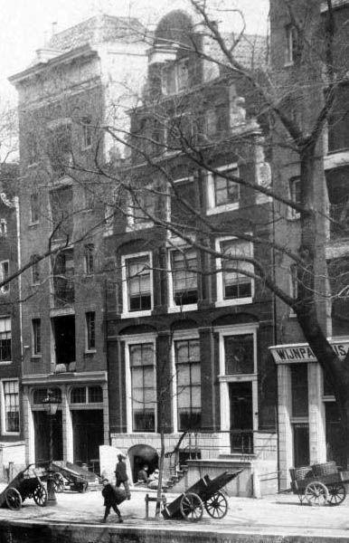 Herengracht 203 vóór restauratie