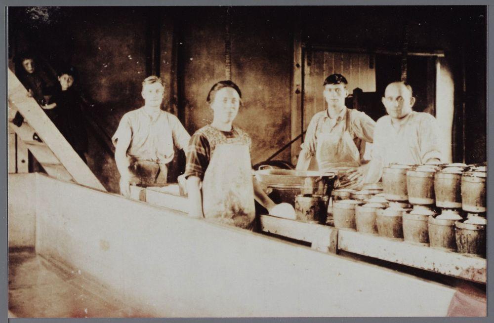 Kaasfabriek 't Spijkerboor in 1925