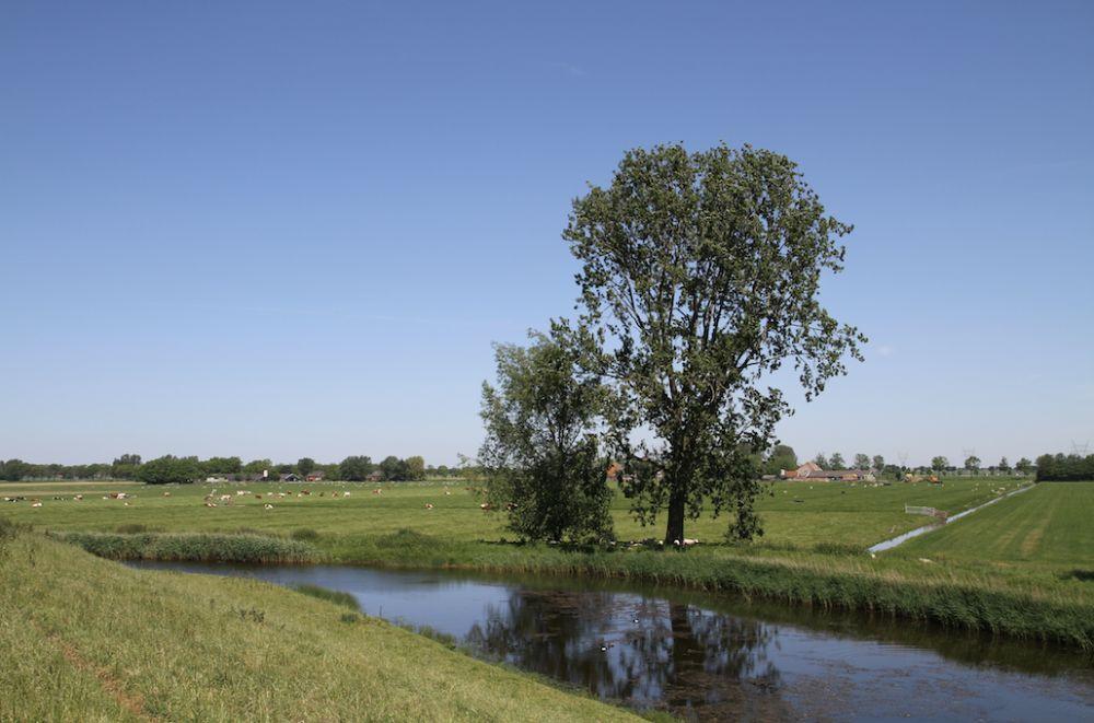 Landschap rond Fort aan de Jisperweg