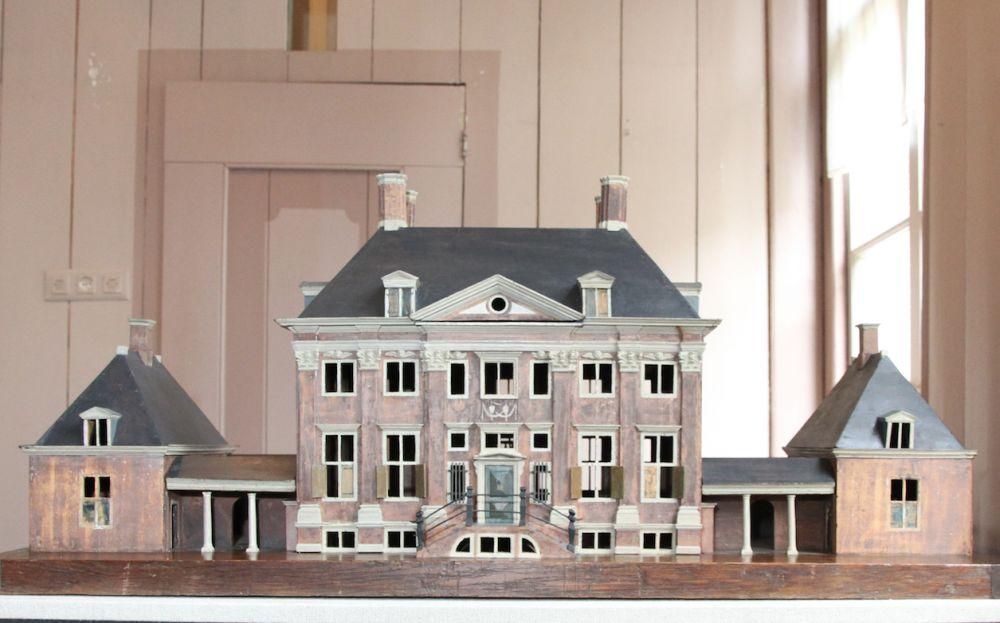 Maquette van buitenplaats Vredenburg (Museum Betje Wolff)
