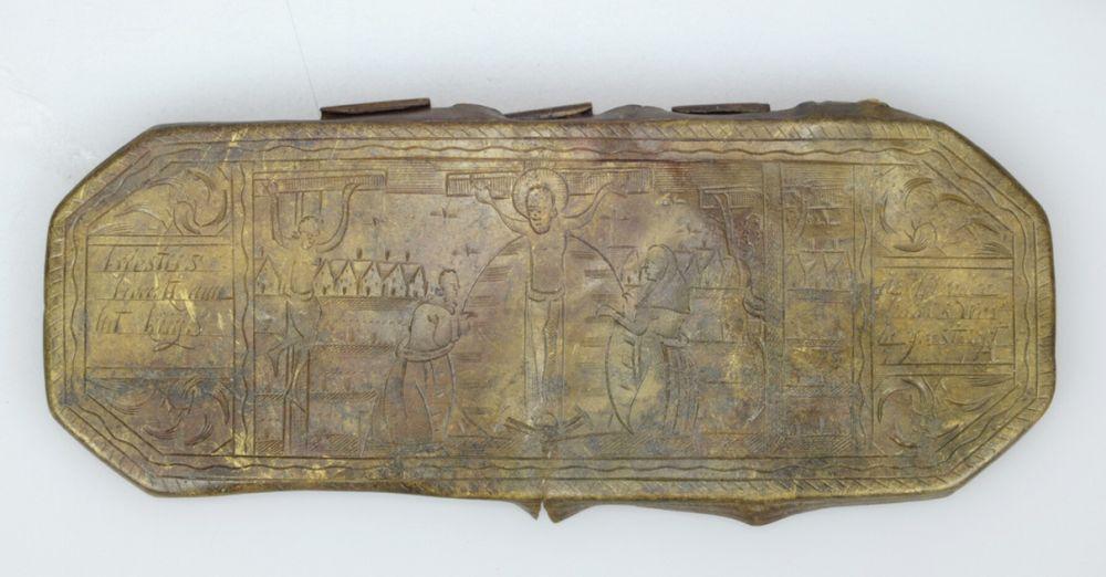 Deksel van een tabaksdoos (1700-1800).