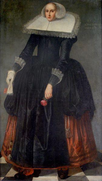 Portret van Trijntje Keever, toegeschreven aan Herman Meijnersz. Doncker, 1633/1635.