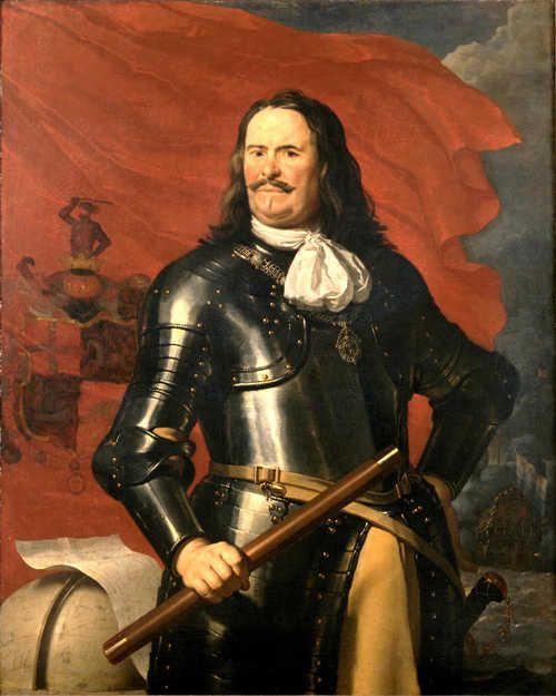 Portret van Michiel de Ruyter.