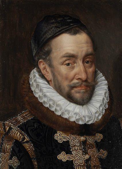 Portret van prins Willem van Oranje door Adriaen Thomasz. Key, ca. 1579.