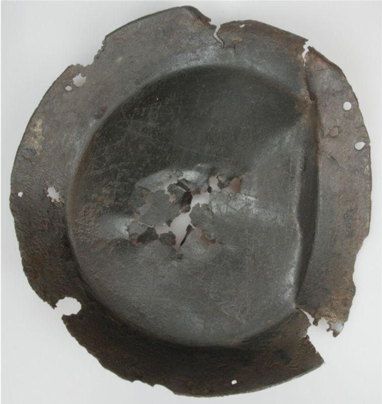 IJzeren steelpan (1600-1800). Bron: Huis van Hilde, inventarisnummer: 5257-01.