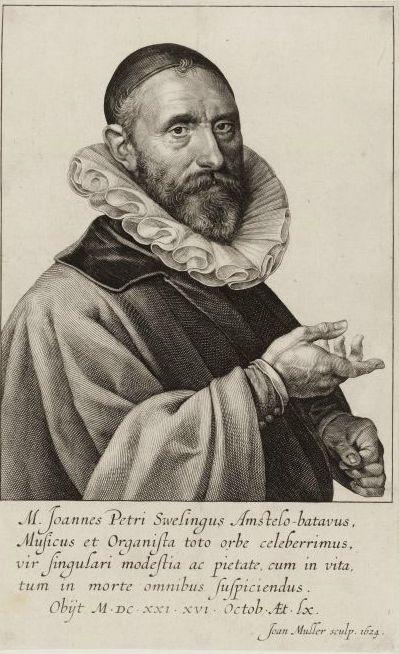 Portret van Jan Pietersz. Sweelinck
